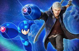 Nero podrá utilizar el Mega Buster de Megaman en Devil May Cry 5