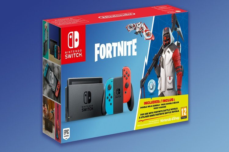 Pack de Nintendo Switch con Fortnite
