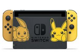 edicion especial de nintendo switch de pokemon let's go delantera