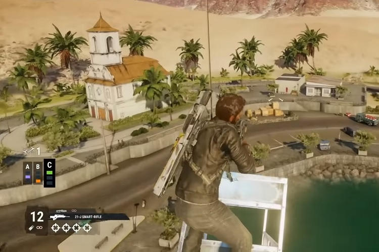 gameplay de Just Cause 4