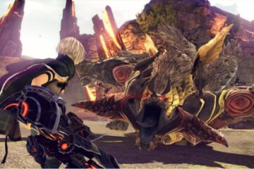 gameplay de god eater 3 de la tgs 2018