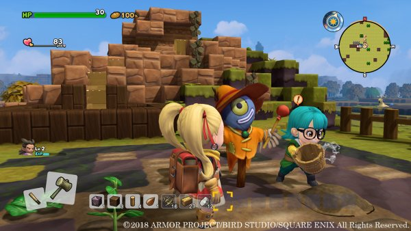 informacion de la construccion en dragon quest builders 2