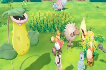 tráiler del Go Park en Pokémon Let's GO Eevee y Pikachu
