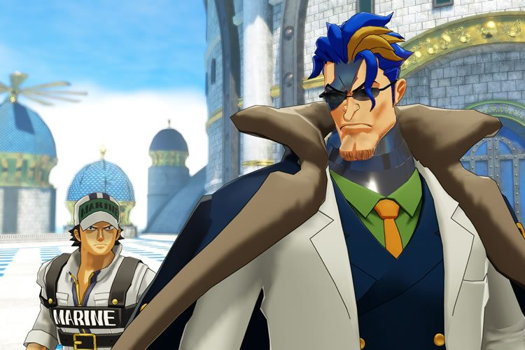 trailer de personajes de one piece world seeker