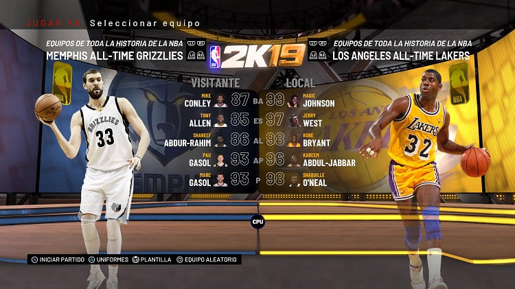 análisis de NBA 2K19