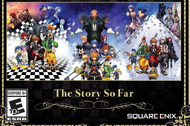 anuncio de kingdom hearts the story so far