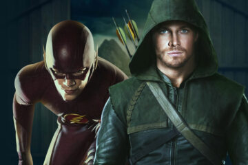 arrow y the flash intercambian trajes