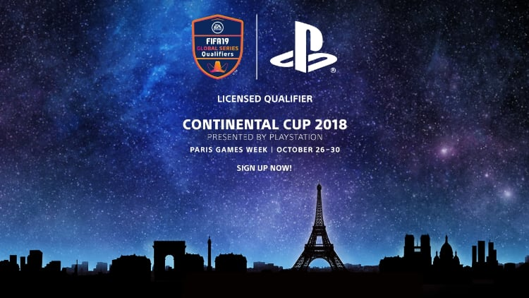 Continental Cup 2018 de PlayStation