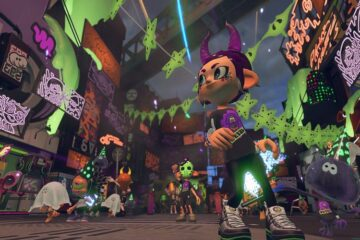 evento de Halloween de splatoon 2