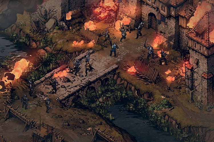 gameplay de Thronebreaker: The Witcher Tales
