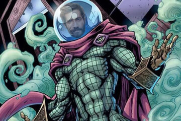 jake gyllenhaal como mysterio en spider-man far from home