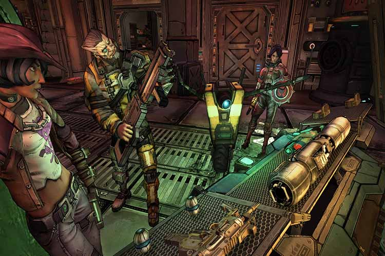Borderlands 2 VR exclusivo de PS4 por 5 meses