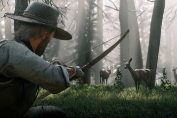 Localización animales legendarios de Red Dead Redemption 2
