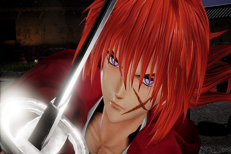 imágenes de Kenshin en Jump Force