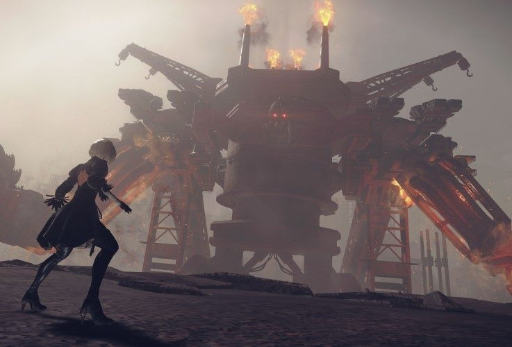 Automata Game of the YorHa Edition — ESRB lista NieR