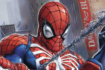 Cómic de Spider-Man de PS4
