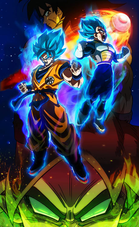 Dragon Ball Super Broly sigue batiendo récords en los cines de Japón