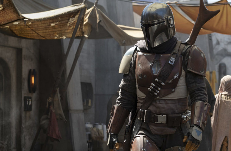 Nick Nolte en The Mandalorian