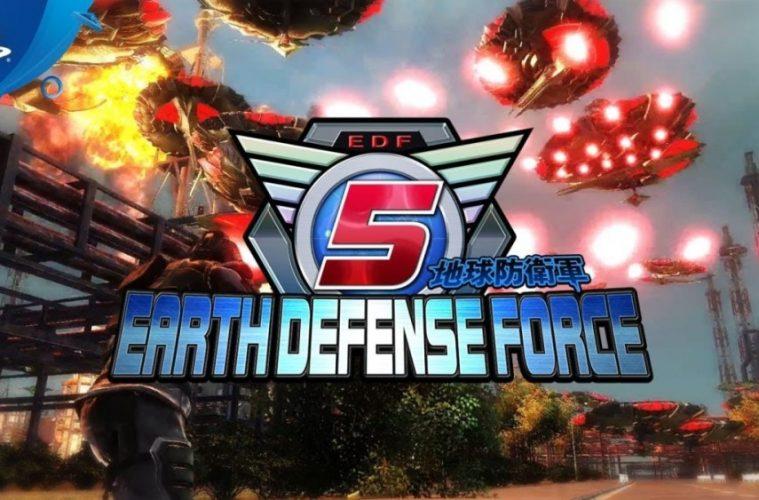 analisis de earth defense force 5