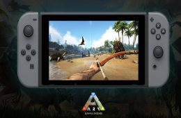 gráficos de Ark Survival Evolved en Nintendo Switch