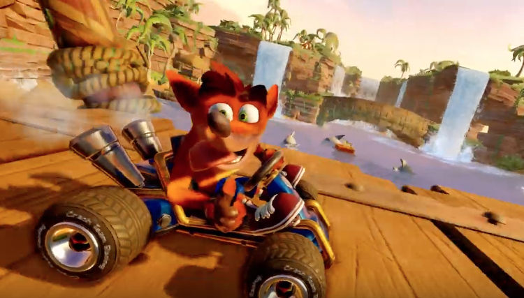 Crash Team Racing remake