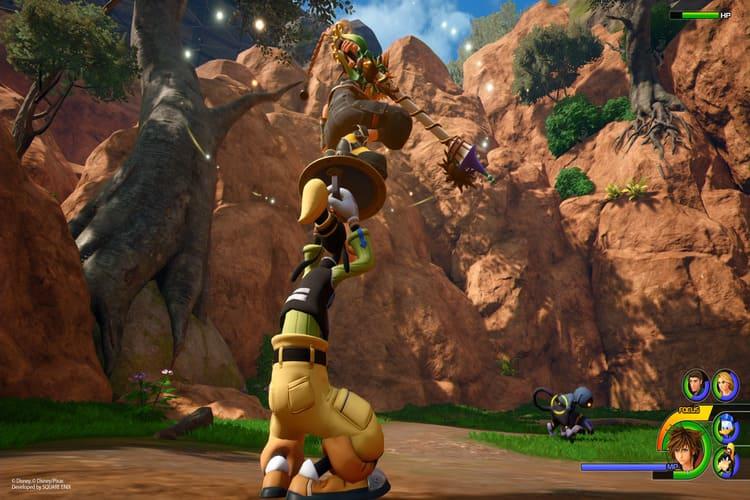 imágenes de Kingdom Hearts III de Arendelle