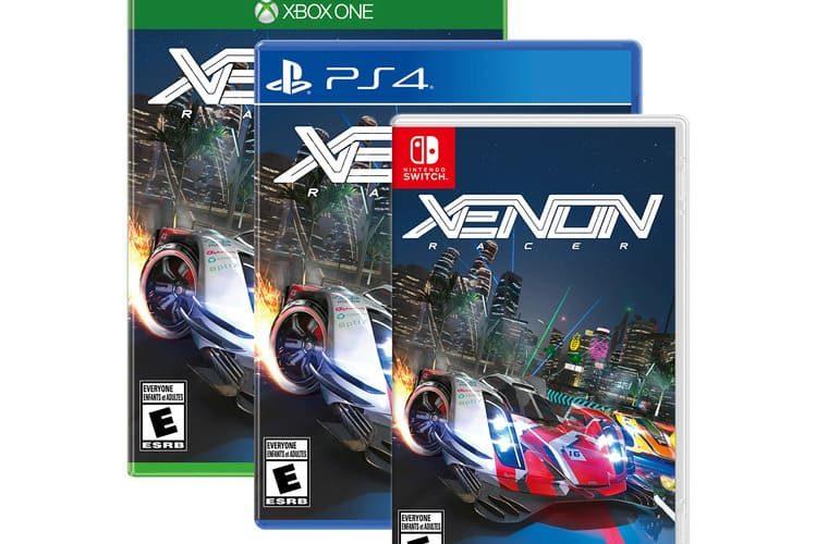 lanzamiento de Xenon Racer en 2019