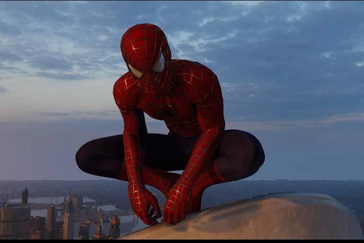 traje de la película de Spider-Man en PS4