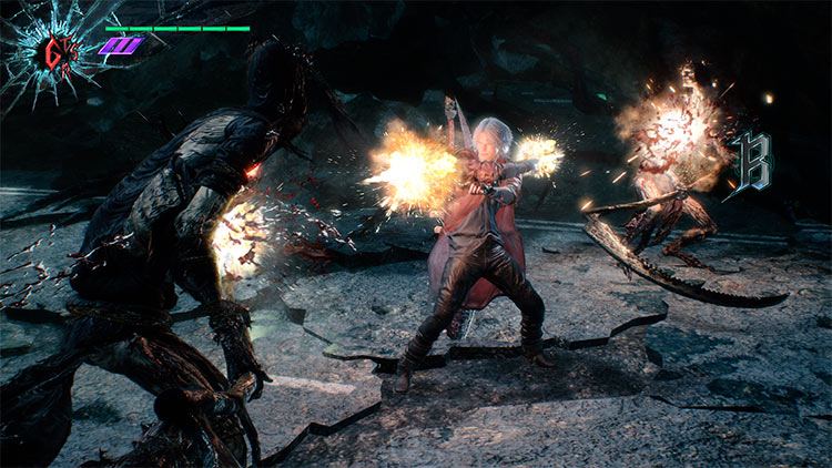 Impresiones de Devil May Cry 5 - Dante
