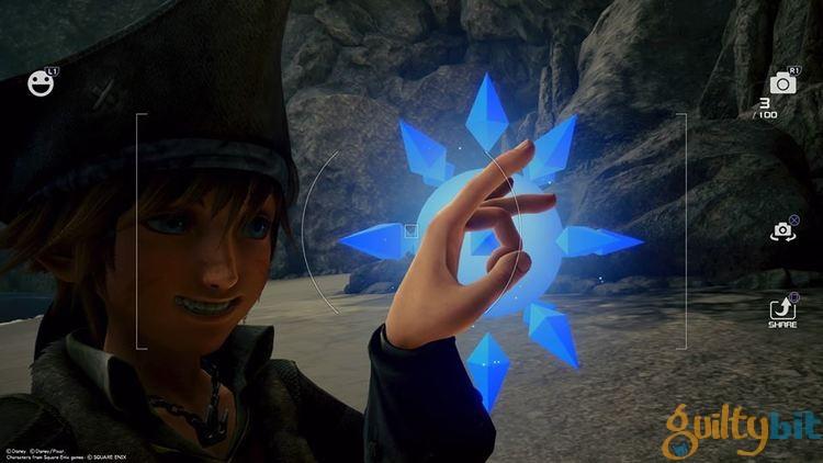 Localizaciones de los informes secretos de Kingdom Hearts III