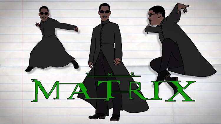 Will Smith protagonista de The Matrix