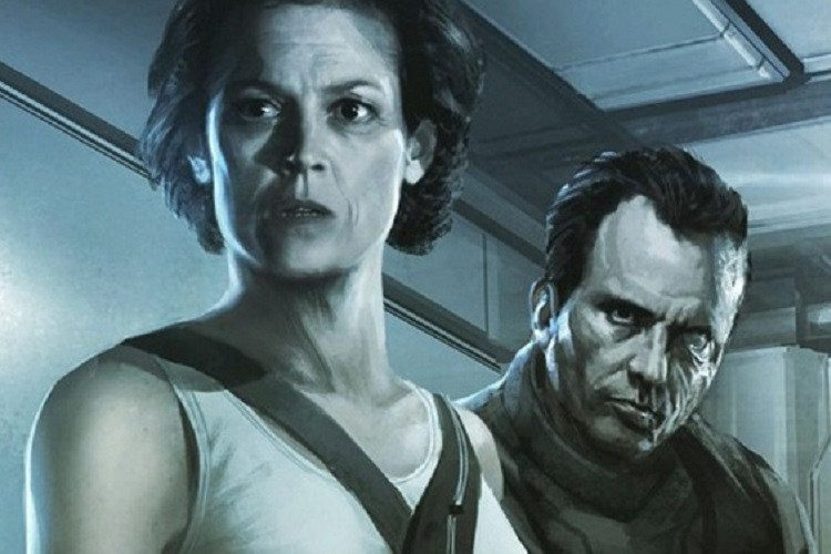 serie animada de Alien: Isolation