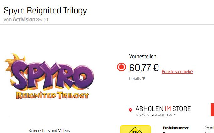 spyro reignited trilogy en nintendo switch 2