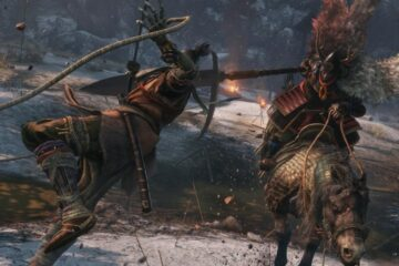 Gameplay de los primeros minutos de Sekiro Shadows Die Twice y mucho jefe final