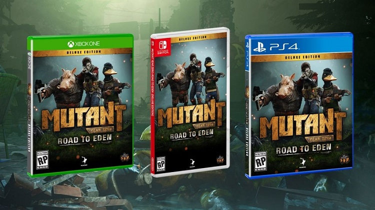 Mutant Year Zero para Nintendo Switch
