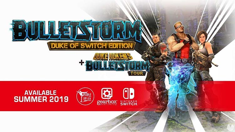Bulletstorm en Nintendo Switch