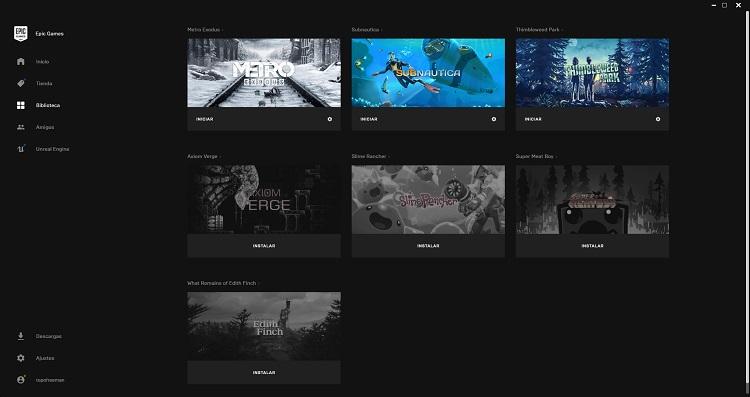 nuevas características de la Epic Games Store