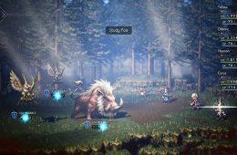 tráiler de lanzamiento para Octopath Traveler en PC