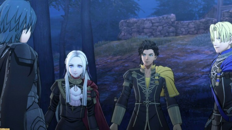 detalles de Fire Emblem Three Houses