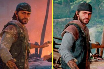 comparativa gráfica de Days Gone