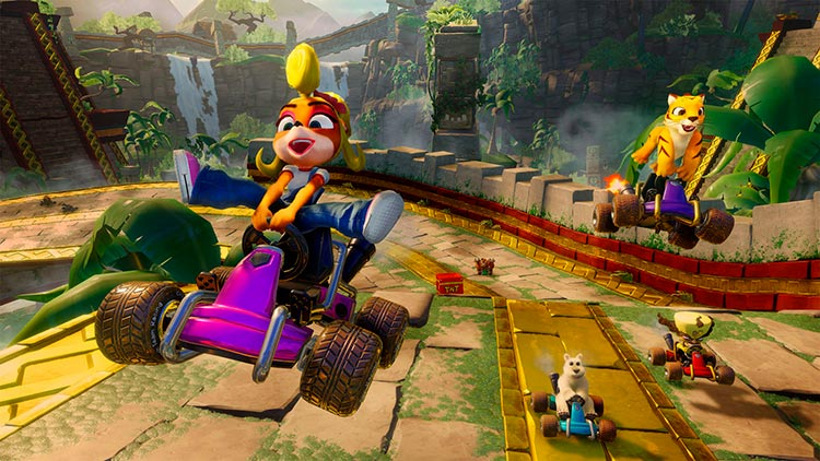 Crash Team Racing tendrá personalización