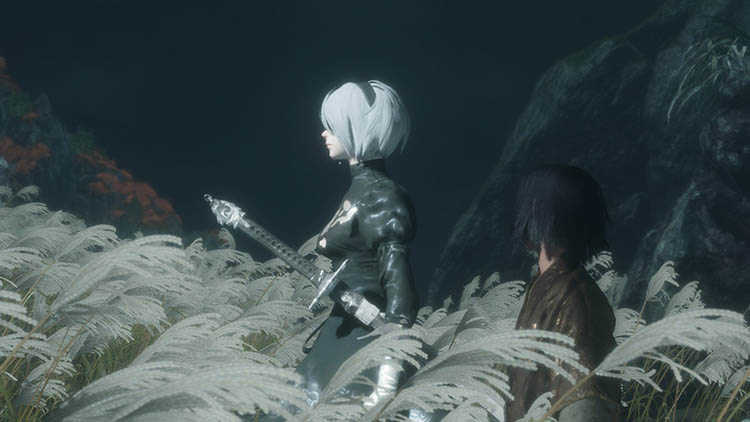 2B en Sekiro: Shadows Die Twice