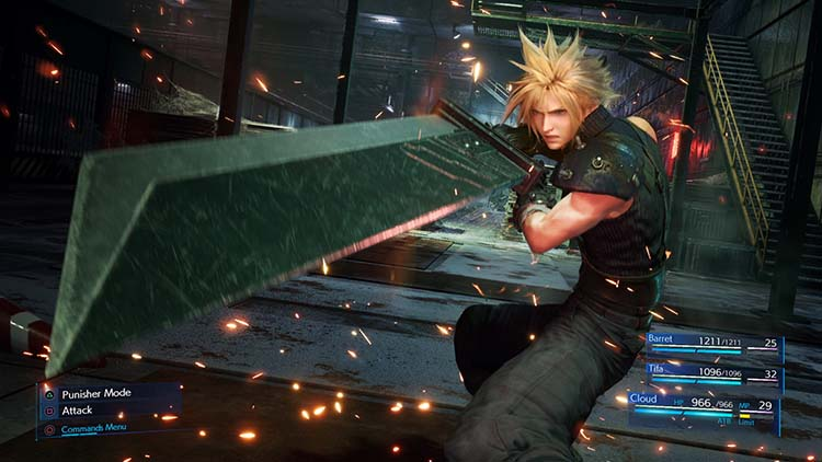 materias de Final Fantasy VII Remake
