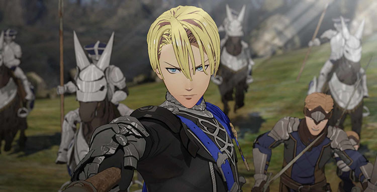 cinemática de introducción de Fire Emblem: Three Houses