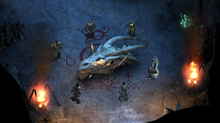 Pillars of Eternity en Nintendo Switch