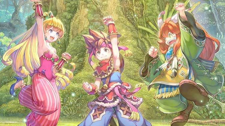 anuncio de Art of Mana