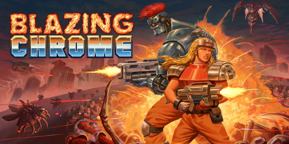 Análisis de Blazing Chrome para Nintendo Switch