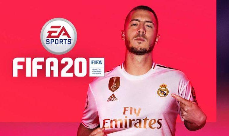 Hazard es portada de FIFA 20