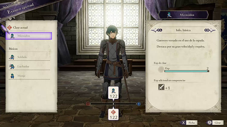 guía de clases para Fire Emblem: Three Houses