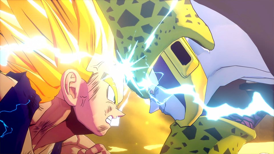 Son Gohan SSJ2 vs Perfect Cell